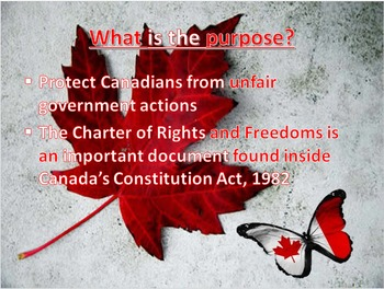 Canadian Charter of Rights and Freedom