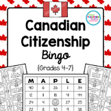 Canadian Citizenship Bingo