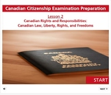 Canadian Citizenship: Rights & Responsbilities - Lesson 2 of 3