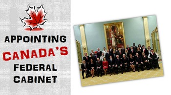 Canadian Civics:  Appointing Canada's Cabinet Activity