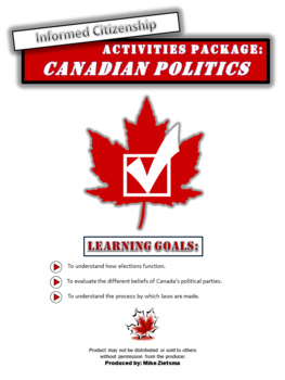 Canadian Civics:  Canadian Politics