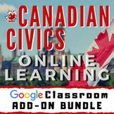 Canadian Civics + Government - Google Classroom - Distance