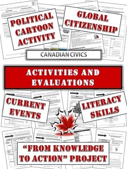 Canadian Civics Unit: Be an Active Citizen!  Current Events, Projects etc.