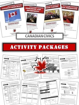 Canadian Civics Unit: Understanding how Government Functions in Canada