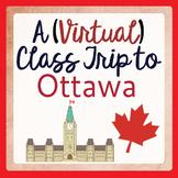 Canadian Social Studies Activities A Class Trip to Ottawa