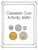 Canadian Coin Activity Mats