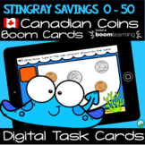 Canadian Coin Counting 0 - 50 Cents