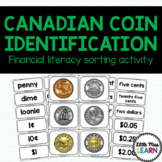 Canadian Coin Identification Matching Activity