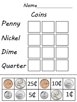 Canadian Coin Matching