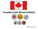 Canadian Coin Money Match Up Game