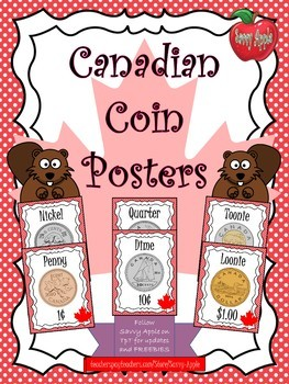 Canadian Coin Posters - Colour and Black and White