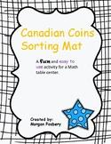 Canadian Coin Sorting Mat