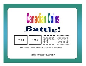 Canadian Coin to $1.20 - Battle! Game