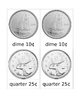 Canadian Coins Matching Cards Montessori