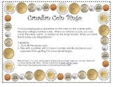 Canadian Coins BIngo