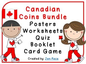 Money - Canadian Coins: Bundled Money Pack