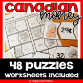 Canadian Money Puzzles Math Center