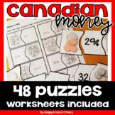 Canadian Money Puzzles Math Center