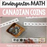 Canadian Coins in Kindergarten
