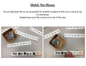 Canadian Coins in Kindergarten