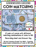 Canadian Coins - Money Match Combinations to 100