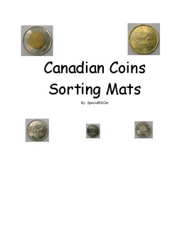 Canadian Coins Sort