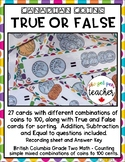 Canadian Coins - True or False Coin Combinations to 100