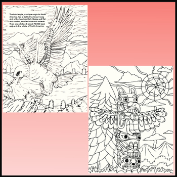 Canadian Colouring Pages, Zen Doodles for Canada.