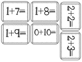 Canadian Counting 1-20