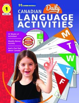 Canadian Daily Language Activities Grade 1