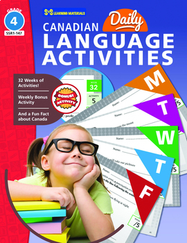 Canadian Daily Language Activities Grade 4