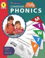 Canadian Daily Phonics Activities Gr. 1 (enhanced ebook)