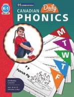 Canadian Daily Phonics Activities Gr. K-1 (enhanced ebook)