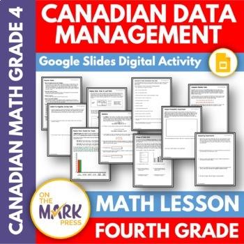 Canadian Data Management Lesson Plans