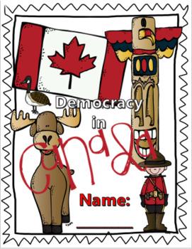 Canadian Democracy Lapbook/Interactive Notebook