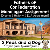 Fathers of Confederation Monologues