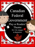 Canadian Federal Government Play or Readers' Theatre for Social Studies