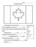 Canadian Flag Cloze Activity