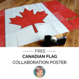 Canadian Flag Collaboration Poster