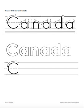 Canadian Flag and Anthem