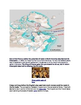 Canadian Fur Trade (The Hudson Bay Company)