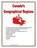 Canadian Geographical Regions