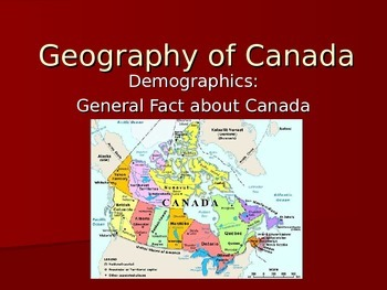 Canadian Geography 2