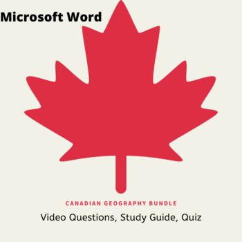 Canadian Geography Bundle