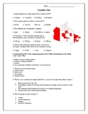 Canadian Geography Quiz