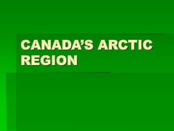Canadian Geography-Regions Case Study