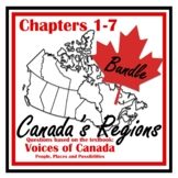 Canadian Geography - Voices of Canada - Student Booklet Bundle