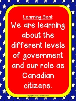Canadian Government - Community Mapping - An Inquiry Based Lapbook Unit
