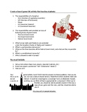 Canadian Government Inquiry Project *Customizable*