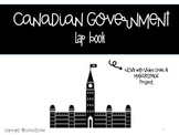 Canadian Government Interactive Lap Book & Makerspace Project